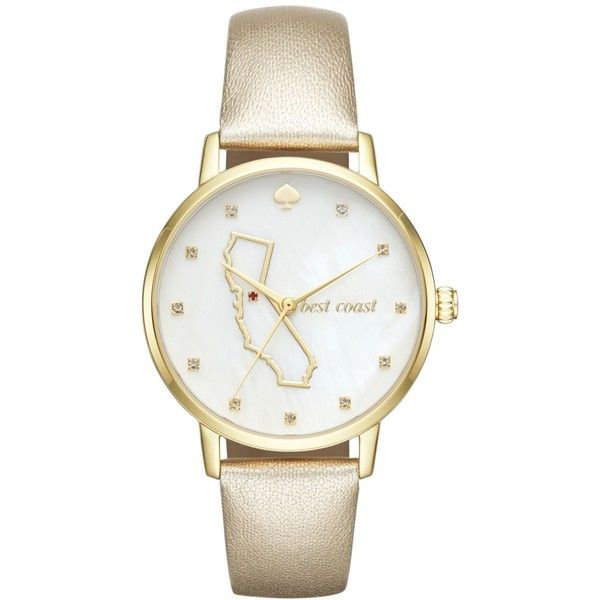 Best 10 Kate spade gold watch ideas on Pinterest Gold watch