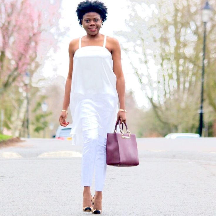Short Hair Styles, Spring Outfits and Natural Hair Styles For Women