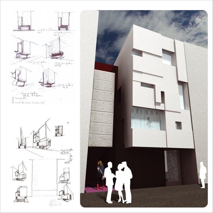 Edificio per civile abitazione LB, Misilmeri, 2009 - AREA STUDIO architetti associati