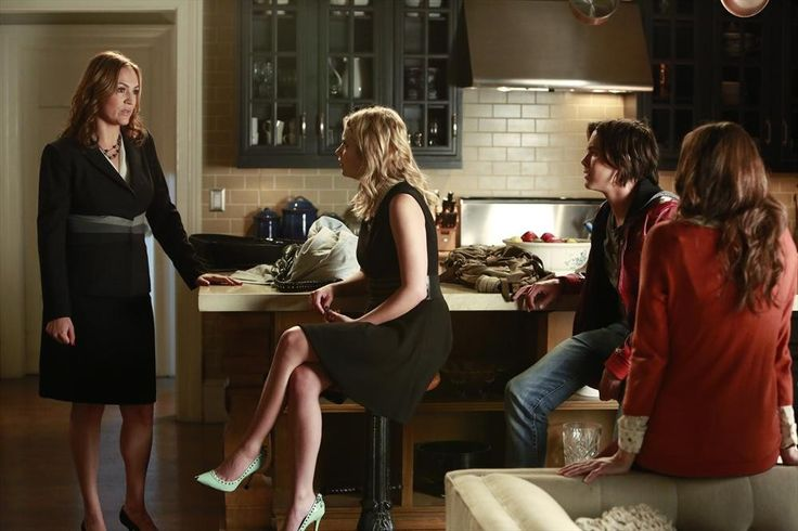 Hanna seriously has the FIERCEST shoes! Tune in to all new episodes of Pretty Little Liars Tuesdays at 8/7c, only on ABC Family!