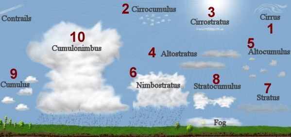 Earth Science for Kids: Weather - Clouds