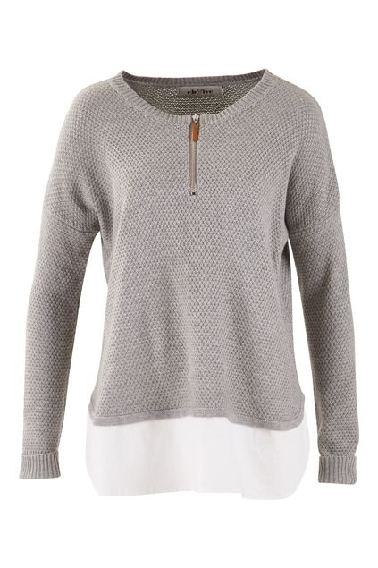Buy Eb and Ive kaftans online Ancelle Zip Knit - Womens Jumpers - For everything but the girl