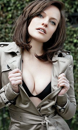 Elizabeth Moss aka Peggy Olsen, neither of which you've ever seen like this before.
