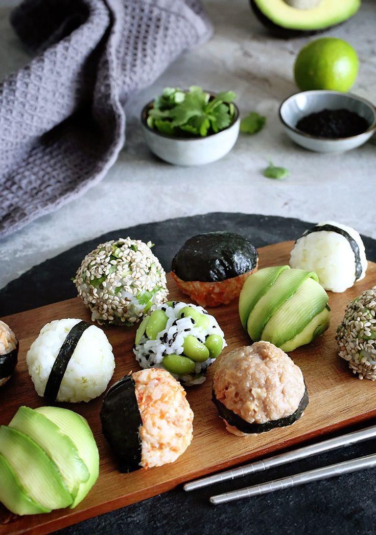 Vegane Onigiri – japanische gefüllte Reisbällche…