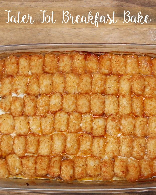 This Tater Tot Breakfast Bake Is Exactly What You Need Right Now