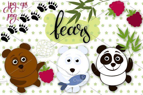 Bears by maritime_m on @creativemarket