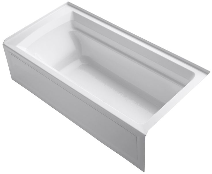 Archer 72 x 36 soaking bathtub soaking bathtubs and for Best soaker tub for the money