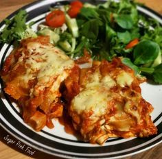 Mexican enchilada lasagne - slimming world