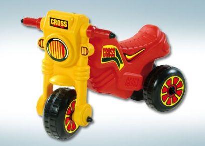 6.000 Ft helyett 4.490 Ft: 3 színben választható 3 kerekű, műanyag cross motor minden vagány kislány és kisfiú számára