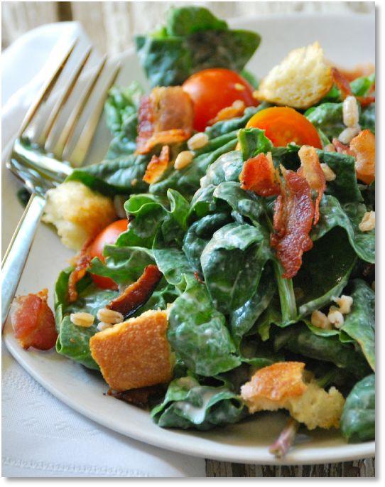 Low FODMAP Recipe Warm bacon salad   http://www.ibssano.com/low_fodmap_recipe_warm_bacon_salad.html