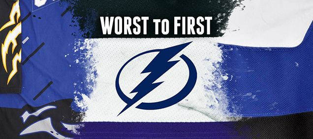 WORST TO FIRST JERSEYS: TAMPA BAY LIGHTNING