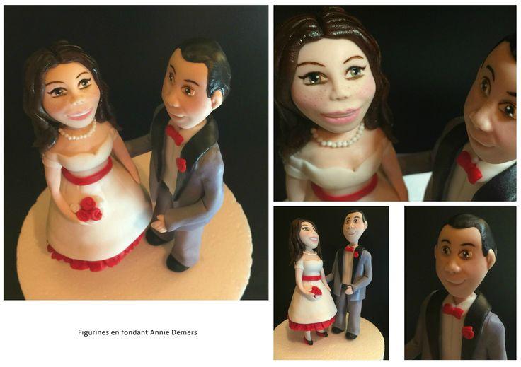 Weeding cake topper vintage https://www.facebook.com/figurinesanniedemers
