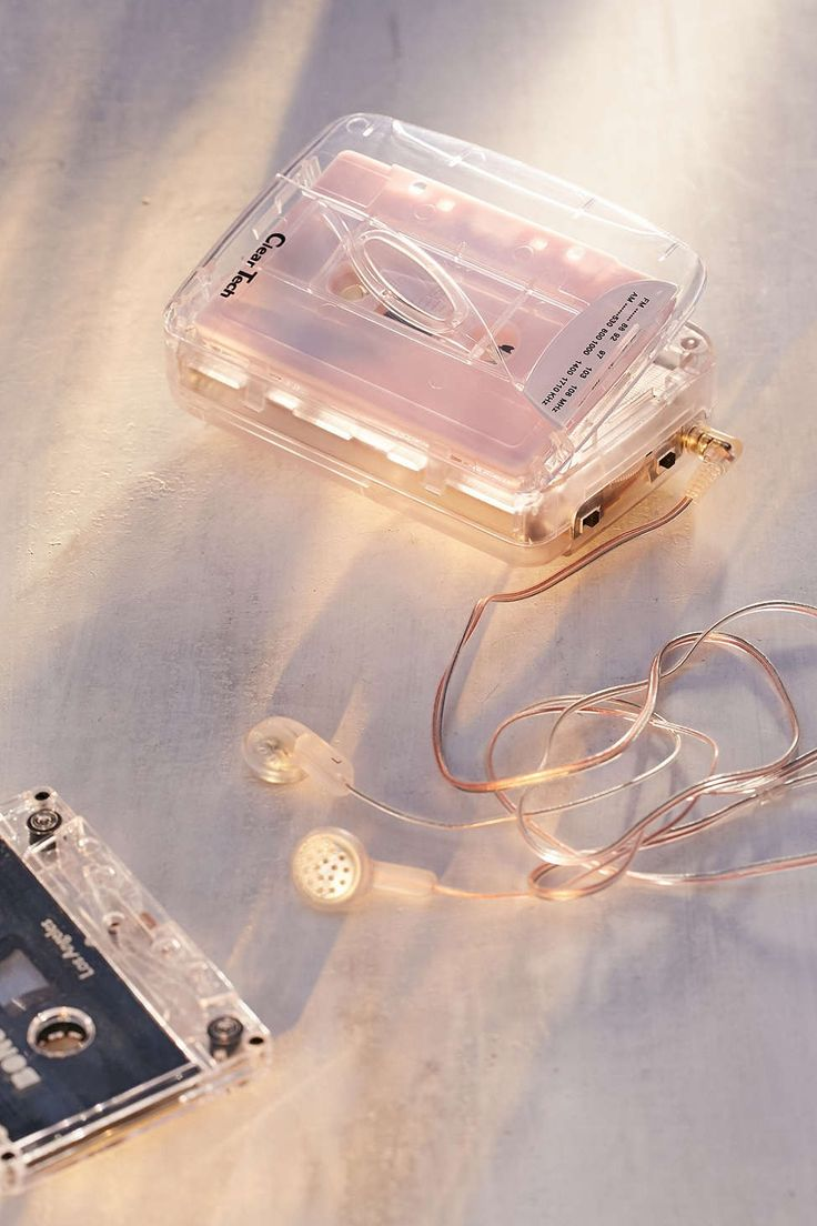 Clear Cassette Player - Urban Outfitters