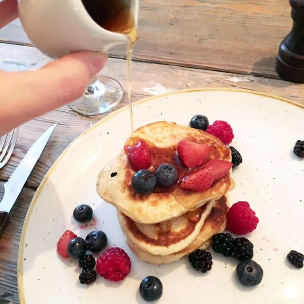 pancakes and maple syrup http://allaboutthegirlblog.blogspot.co.uk/2016/09/when-i-cheat-i-really-cheat.html