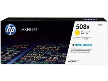 Cartucho de Tinta HP Amarelo - Laserjet 508X