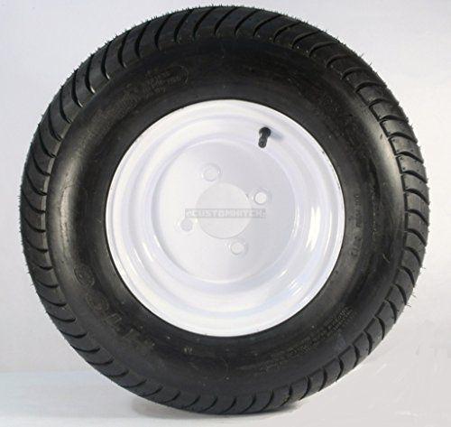 20.5x8x10 trailer tire and wheel 4 lug