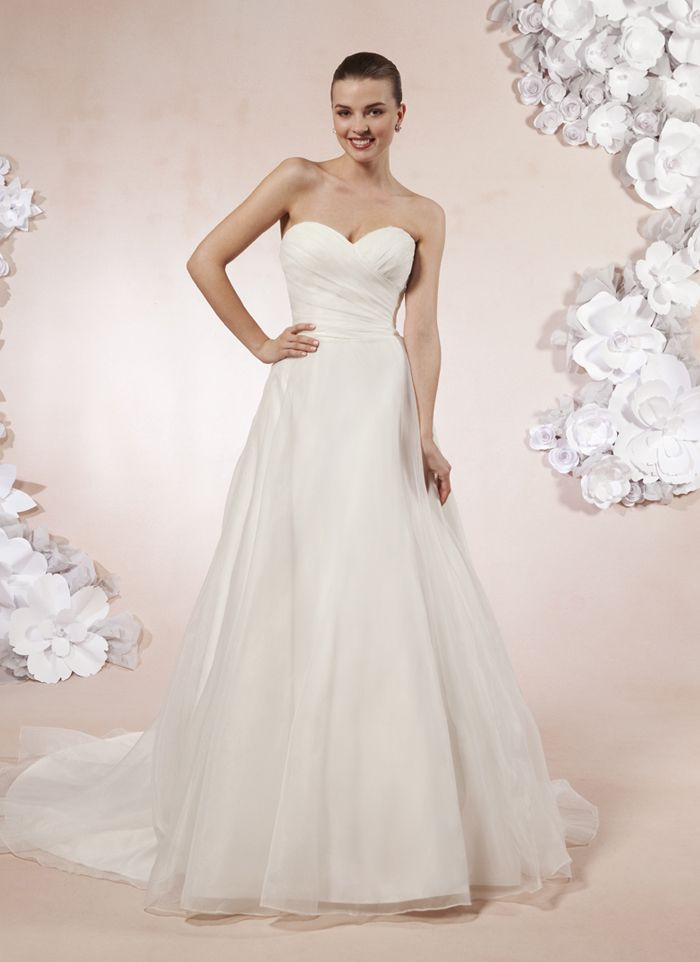 wedding dress hire cape town northern suburbs%0A enchanted bridal Sweetheart Gowns sweetheart style      A sweetheart  neckline in pleated organza with a natural waist on this ball gown
