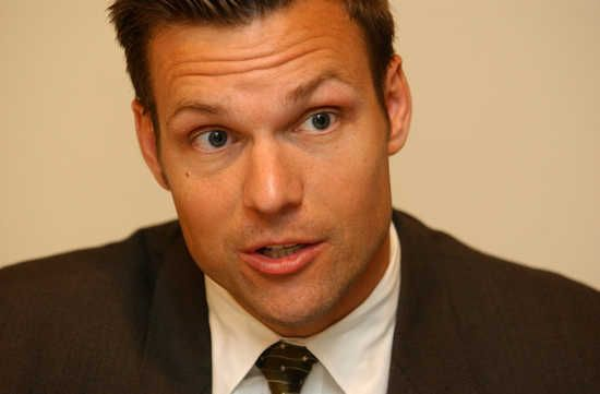 Kansas Secretary of State Chris Kobach. Three of the state's top elected Republicans on Thursday determined they lacked sufficient evidence of President Barack Obama's birth records to decide whether to remove the Democratic nominee from the November ballot in Kansas.