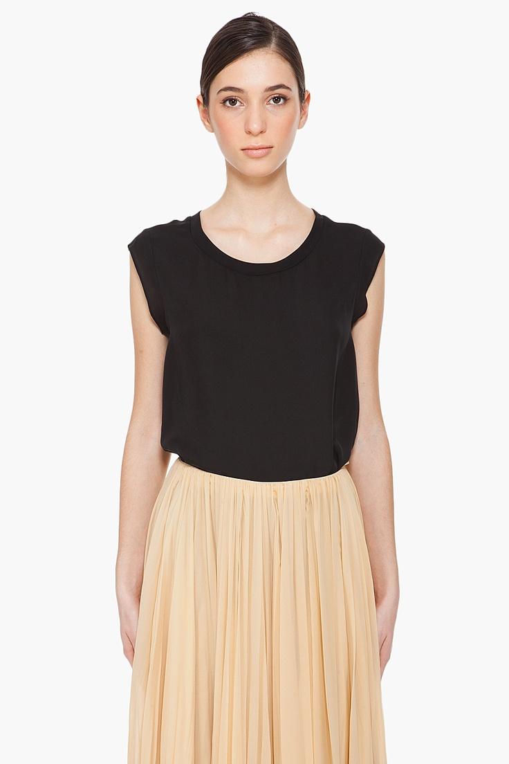silk muscle tee blouse ++ 3.1 phillip lim: Phillip Lim, Lim Silk, Silk Muscle, 3 1 Phillip, Woman Shirt, Muscle Tees