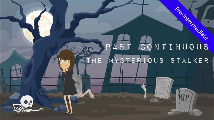 Watch the suspense thriller short about Elissa and the mysterious stalker & present the past continuous tense vs. past simple to students in a pre-intermediate level lesson.