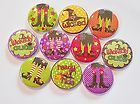 Wicked Cute Halloween Flatback Pin Back Buttons 1 for Bows Charms  - Halloween Flatback Pins
