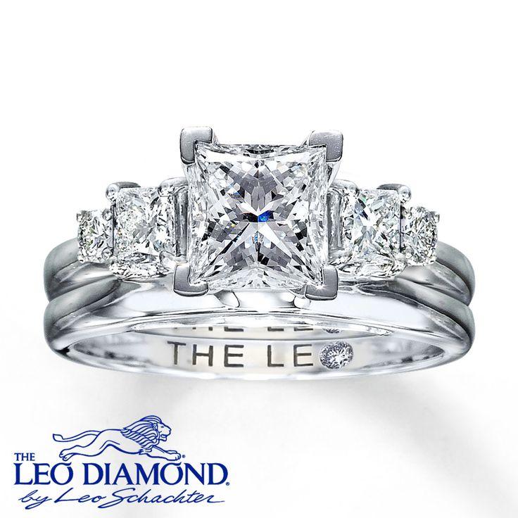 Leo Diamond Enhancer Ring 1 2 Carat Tw 14k White Gold