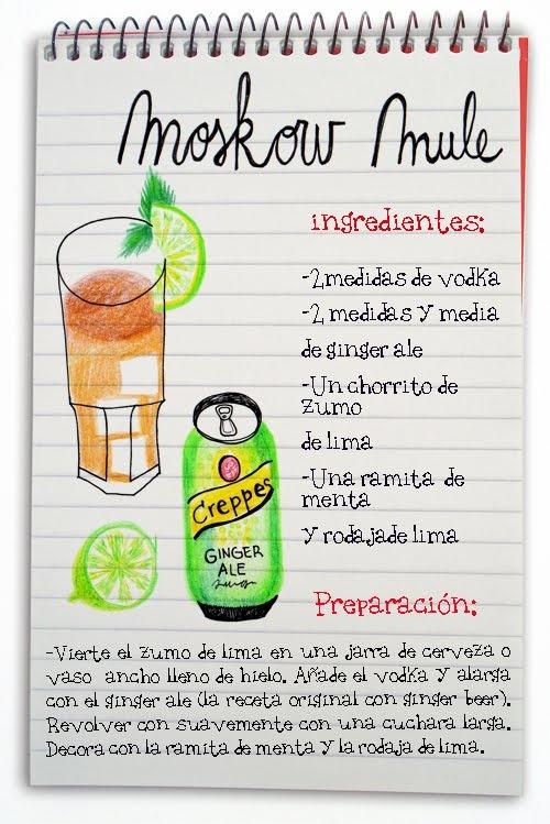 Moskow mule: cóctel con vodka