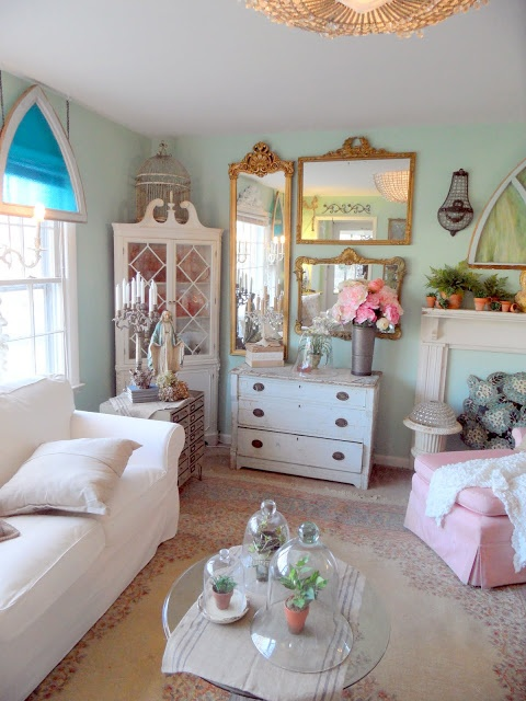 Shabby French Cottage: LOVE this site!