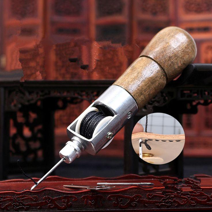 Купить товарРучной кожа рук швейная машина DIY ручной работы воловьей кожи Натуральной Кожи инструмент diamond cut кожа шить http://ali.pub/4rdtc