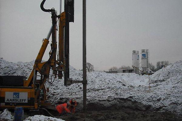 Pale prefabrykowane, ścianki szczelne, kotwy gruntowe, kolumny DSM, S8 Jeżewo-Białystok.