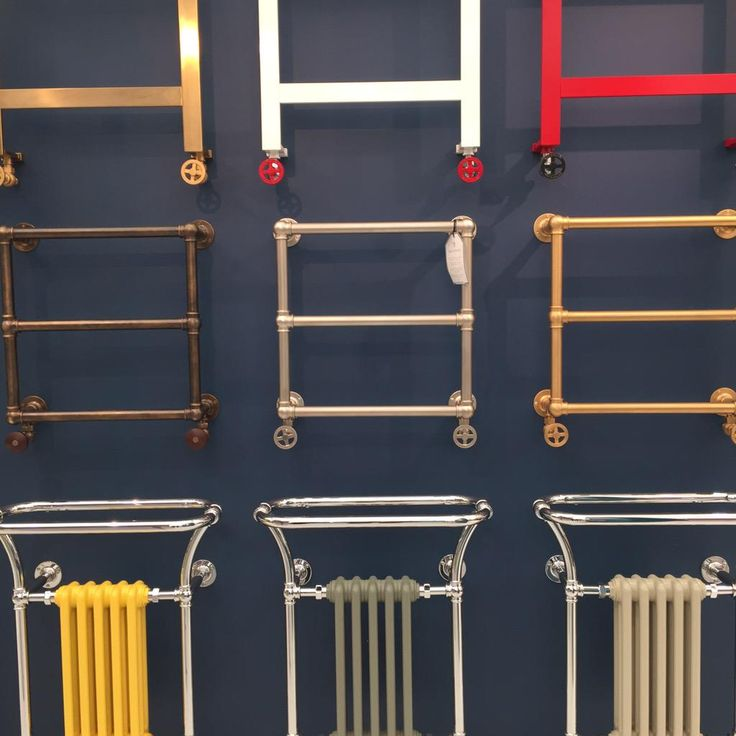 @Decorex_Intl Bard&Brazier gorgeous towel warmers all made in the UK
