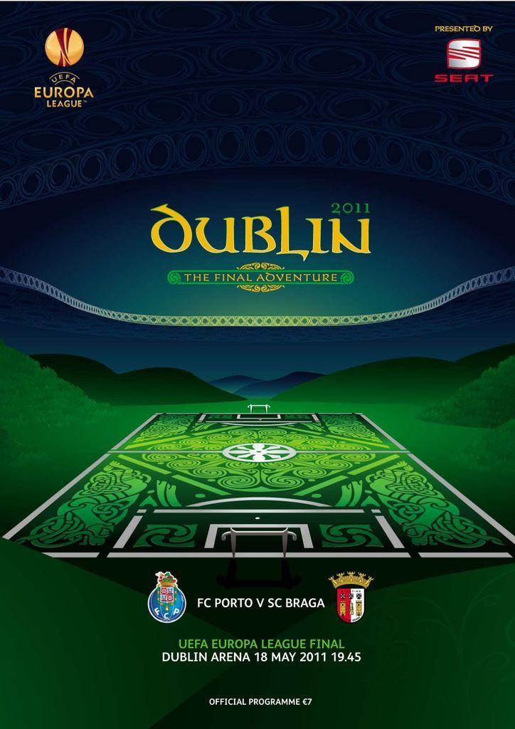 Uefa Europa League Final Official Matchday Programme Magazine Digital In 2020 Europa League League Soccer Poster