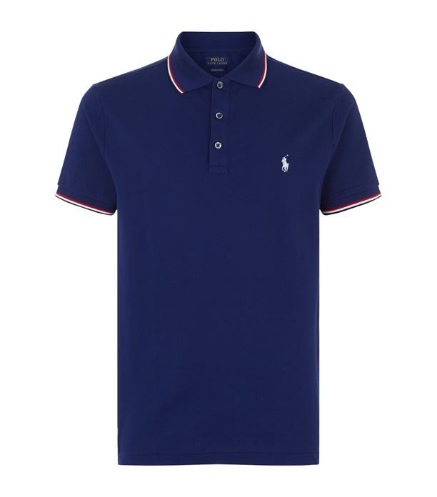 Polo Ralph Lauren Tip Collar Polo Shirt available to buy at ...