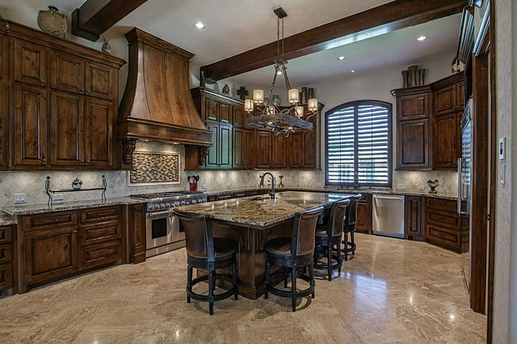 Well Thought Gourmet Kitchen Includes Knotty Alder