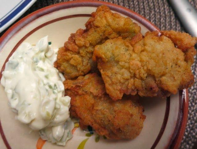 Невыразимая легкость кулинарного бытия...: Жареные устрицы