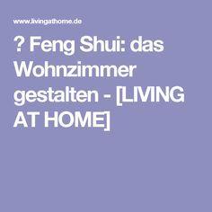 Feng Shui Frs Wohnzimmer