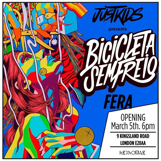 @justkidsofficial presents #FERA - Opening March 5th 6-9pm. On display from March 6th to 8th, 12pm to 6pm. Rexromae, 9 Kingsdland Rd, London E28AA. More info on www.justkidsofficial.com #expo #London #art #show #exhibitions