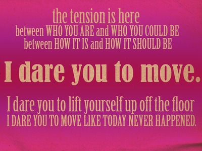 Dare you to move by switchfoot lyrics