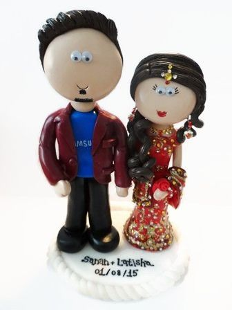 38 best Personalised Wedding Cake Toppers on cakes images on