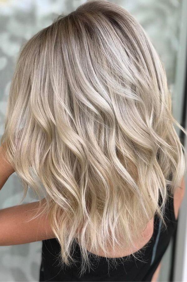 51 Ultra Popular Blonde Balayage Hairstyle Hair Painting