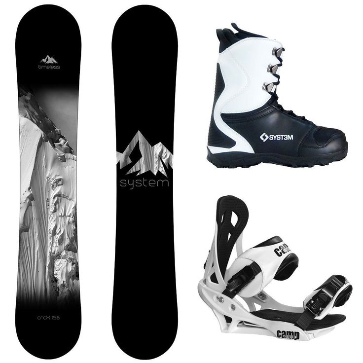 Snowboards 93825: New 2017 System Timeless And Summit Complete Men S Snowboard Package -> BUY IT NOW ONLY: $289.95 on eBay!