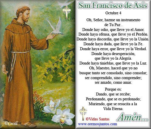 oracion por la paz | publicado por rincon oracion en 1 00 enviar por correo electronico ...
