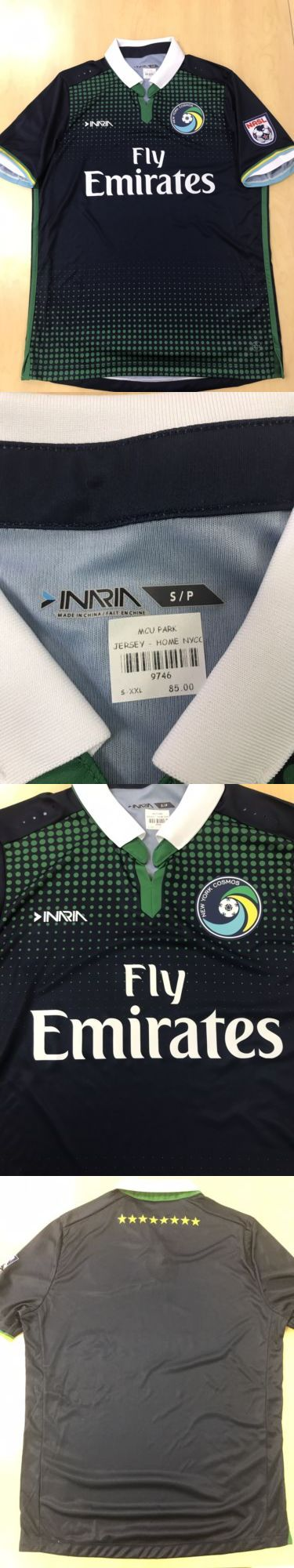 Soccer-Other 2885: New York Cosmos 2017 Jersey -> BUY IT NOW ONLY: $65 on eBay!
