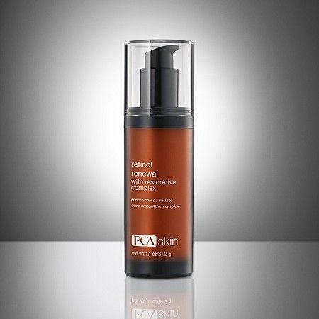 Retinol Renewal 1 oz. PCA Skin.  If you want a Retinol, this is it.  Excellent safe ingredients. This serum contains a unique retinol complex blended with botanicals to minimize the appearance of fine lines and wrinkles, while promoting an even skin tone.  We offer the best prices in the shoping cart.