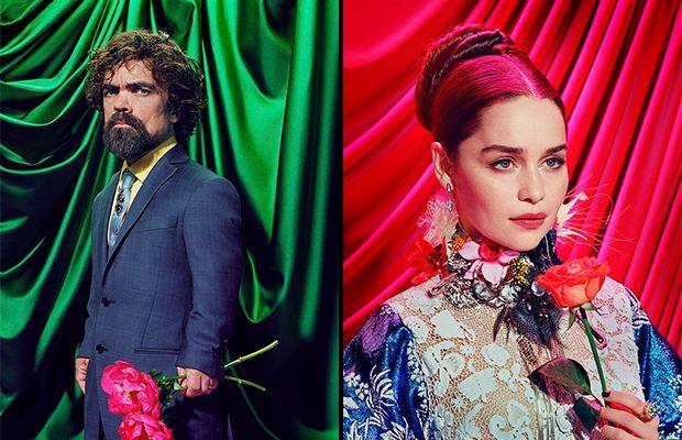 Game Of Thrones Oyuncularının Göz Kamaştıran Saykodelik Fotoğrafları