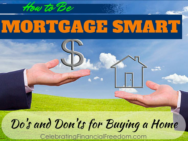 """""""How to Be Mortgage Smart Do's and Don'ts for Buying a"""