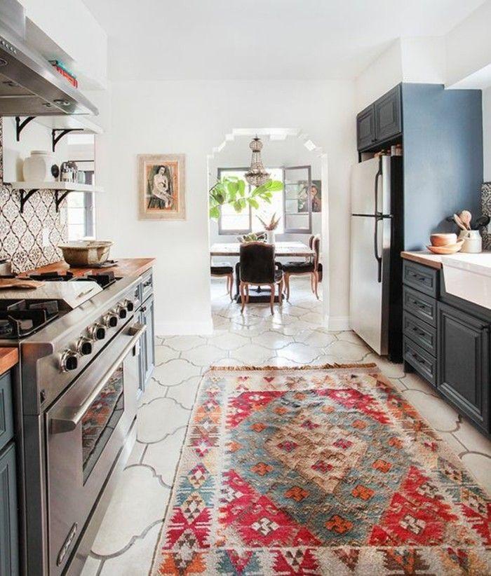 die besten 25+ retro teppiche ideen auf pinterest | retro fliesen ... - Teppiche Für Küche