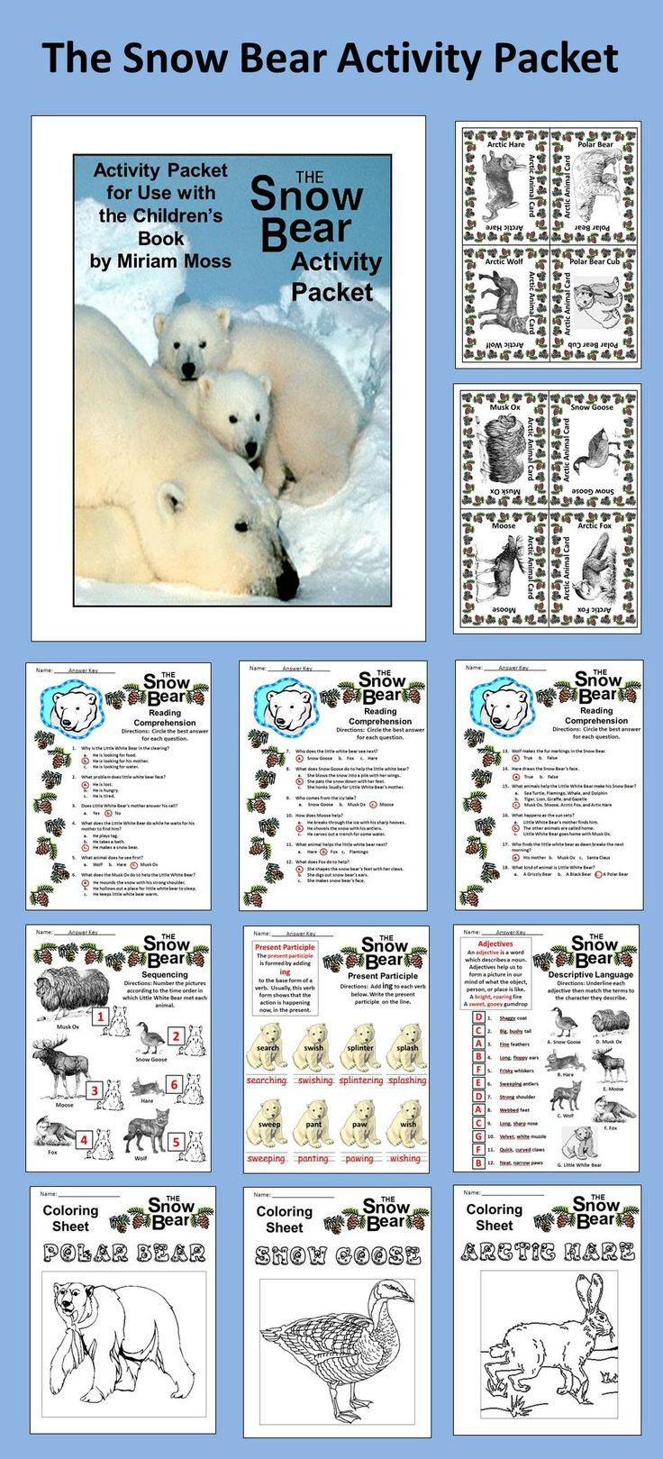 ... Snow Bear * One sequencing activity for events from The Snow Bear