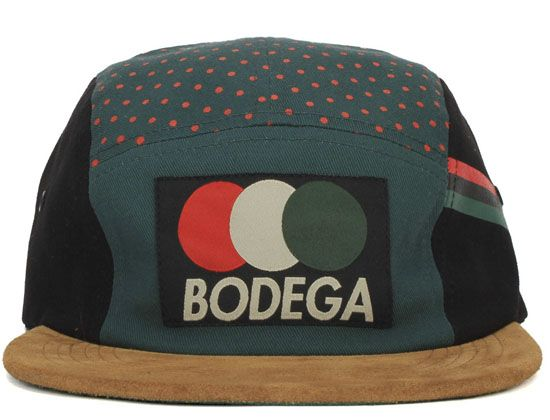 The Circles Hat by BODEGA has a tri-colorway that is reminiscent of the  Gucci stripe. 270b2968ba0f