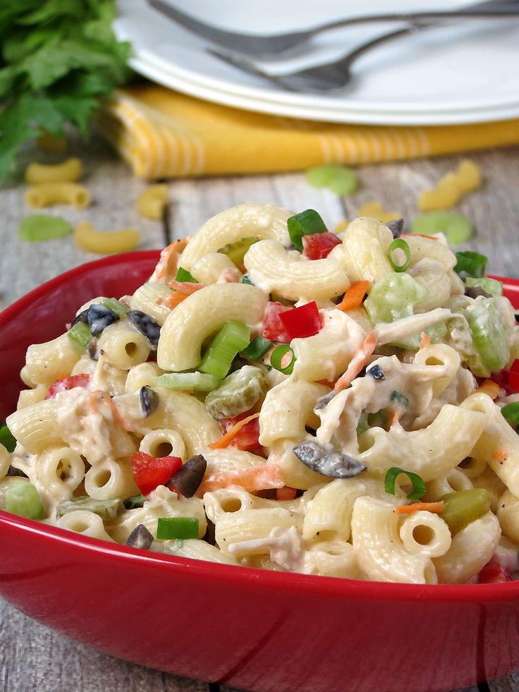 recipe: chicken macaroni salad with grapes [13]